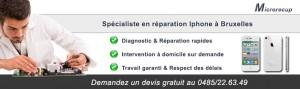 Réparation Iphone Bruxelles